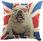 Evans Lichfield Union Jack Winston Tapestry (Filled) Cushion, 45cm x 45cm
