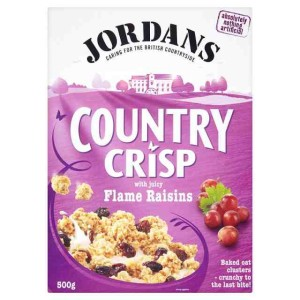 Jordans Country Crisp with Juicy Flame Raisins 500g