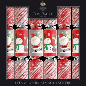 Tom Smith Family Fun Christmas Crackers 12 per pack