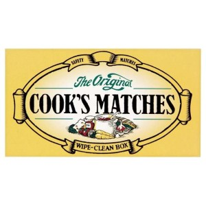 Cook's Original Safety Matches 5cm long appx
