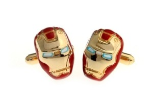 Iron Man 2 cufflinks
