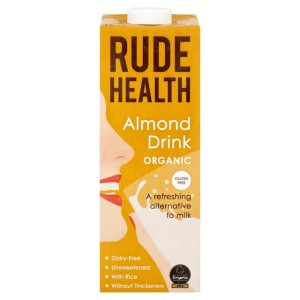 Rude Health Organic Almond & Rice Drink 1L