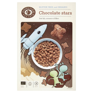 Doves Farm Organic Gluten Free Cereal Chocolate Stars 375g