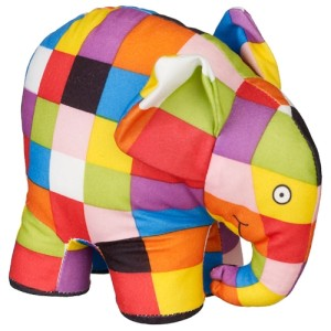 Elmer the Elephant Soft Plush Toy