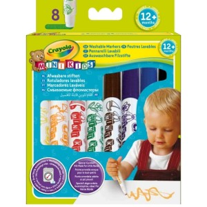 Crayola Beginnings First Washable Markers - 8 Pack