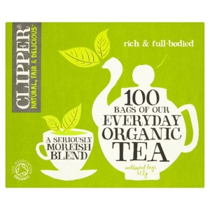 Clipper Organic Everyday Tea Bags 100 per pack