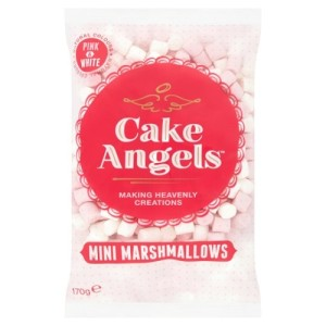 Cake Angels Mini Marshmallows Pink & White 170g