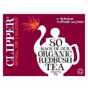 Clipper Organic Redbush Influsion 80 per pack
