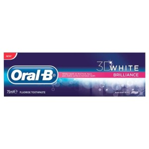 Oral-B Toothpaste 3D White Brilliance Delicious Mint 75ml