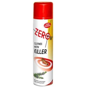 Zero In Clothes Moth Killer Spray 300ml