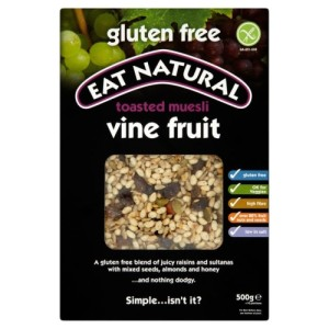 Eat Natural Toasted Muesli Vine Fruit 500g