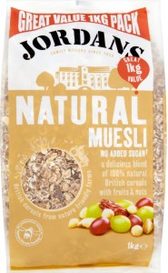 Jordans Natural Muesli with Fruit & Nuts 1 kg