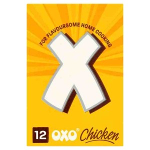 OXO 12 Chicken Stock Cubes 70g