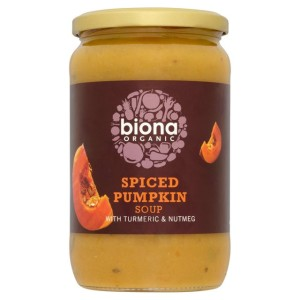 Biona Organic Spiced Pumpkin Soup with Turmeric & Nutmeg 680g