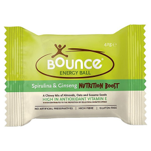 Bounce Spirulina Ginseng Nutrition Boost Protein Ball 42g