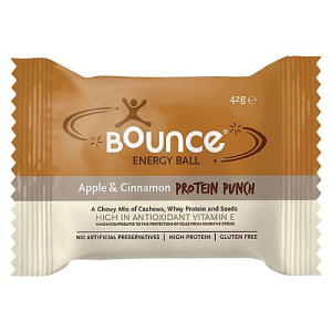 Bounce Apple & Cinnamon Protein Punch Energy Ball 42g