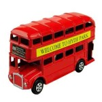 London Double Decker Bus Die-Cast Pencil Sharpener
