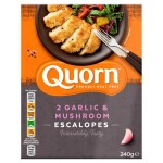 Quorn Garlic & Mushroom Escalopes Frozen 240g