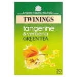 Twinings Green Tea with Tangerine & Verbena 20 Tea bags