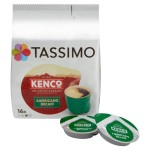 Tassimo Kenco Americano Decaff Coffee Pods 16 per pack