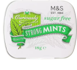M&S Curiously Strong Sugar Free Mints Tin 18g