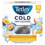 Tetley Cold Infusions Passionfruit & Mango 12 Infusers