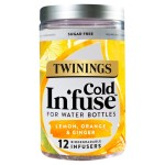 Twinings Cold In'fuse Lemon Orange & Ginger 12 Infusers