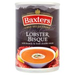 Baxters Chef Selections Lobster Bisque Soup 415g