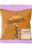 M&S Belgian Milk Chocolate Coated Peanuts 125g