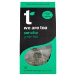We Are Tea Sencha Whole Leaf Tea Bags 15 per pack