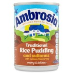 Ambrosia Traditional Rice Pudding Sultanas & Nutmeg 425g