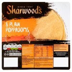 Sharwood's Plain Poppadoms 8 per pack