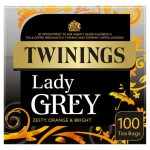 Twinings Lady Grey 100 per pack