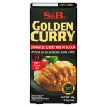 S&B Golden Curry Japanese Mix Hot 92g