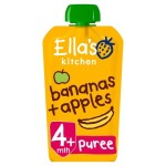 Ella's Kitchen Organic Apples & Bananas Stage 1 120g