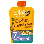 Ella's Kitchen Organic Chicken Casserole with Rice Stage 2 130g