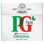 PG Tips Pyramid Tea Bags 40 per pack