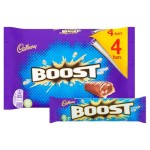 Cadbury Boost 4 Pack Multipack 160g