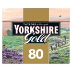 Taylors of Harrogate Yorkshire Gold Tea Bags 80s