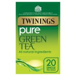 Twinings Pure Green Tea 20 per pack