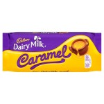 Cadbury Dairy Milk Caramel Chocolate 110g