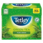 Tetley Pure Green Tea Bags 50 per pack - 100g