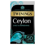Twinings Ceylon Tea Bags 50 per pack