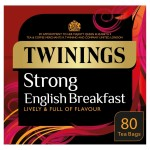 Twinings 1706 Strong Breakfast Tea 80 per pack