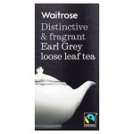 Earl Grey Loose Leaf Tea Waitrose 125g