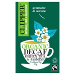 Clipper Fairtrade Jasmine Green Tea 20 per pack