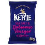 Kettle Chips Balsamic Vinegar & Sea Salt 150g