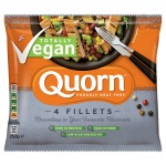 Quorn 4 Frozen Vegan Fillets 252g