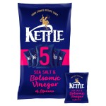 Kettle Chips Salt & Balsamic Vinegar 5 x 30g