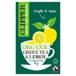 Clipper Green Tea with Lemon 25 per pack